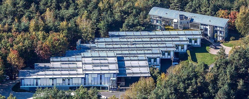 Luftbild der Kurt Hüttinger GmbH & Co. KG