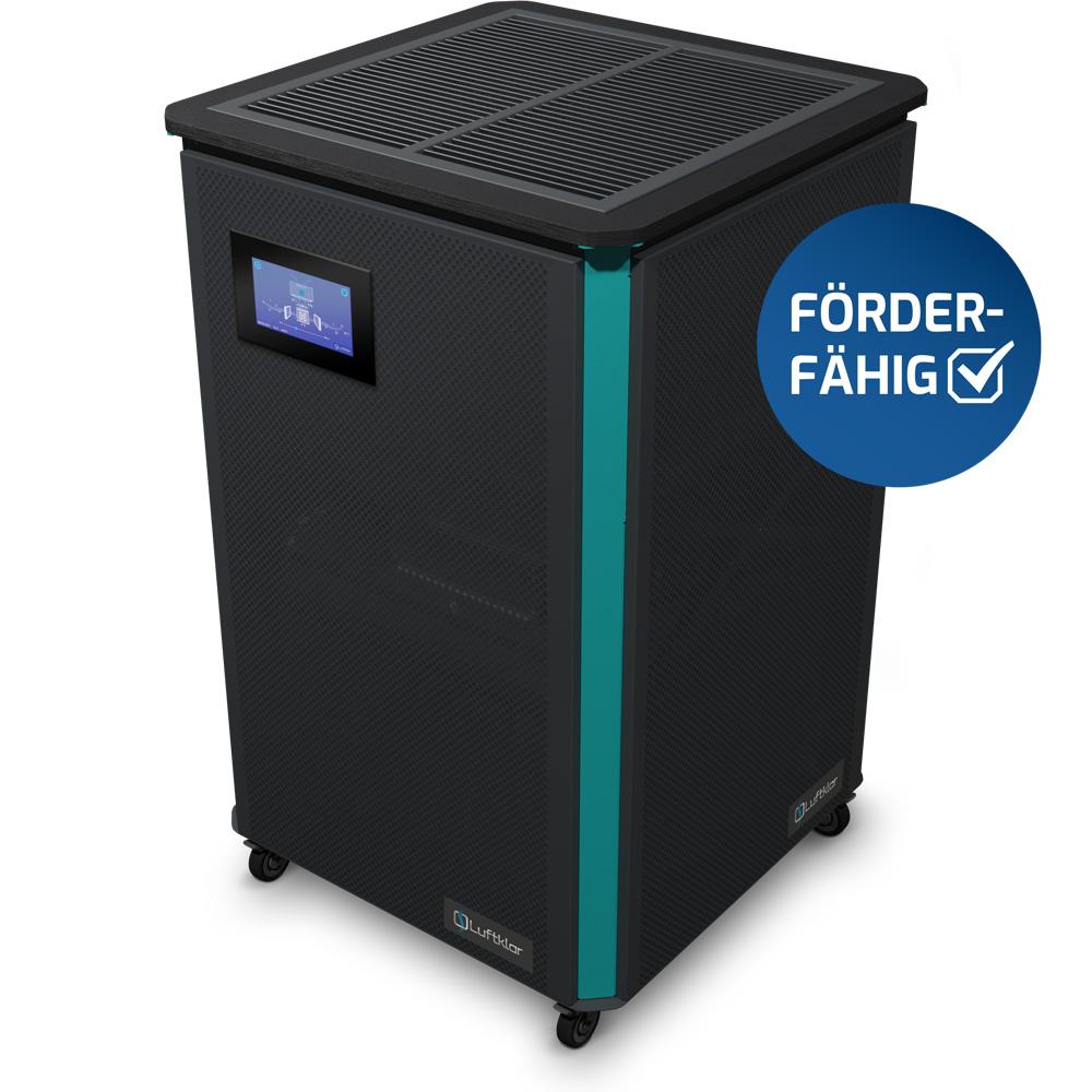 Luftklar Luftreiniger HEPA 1800